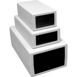 Image of Axxatronic 161 161 Universal-Gehäuse 82 x 160.8 x 44.1 Kunststoff Hellgrau 1 St.