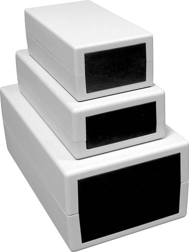 Universal-Gehäuse 112.4 x 198.2 x 76 Kunststoff Hellgrau Axxatronic 202 1 St.