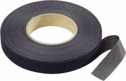Klettband zum Bündeln Haft- und Flauschteil (L x B) 10000 mm x 16 mm Schwarz Binder Band 10 m