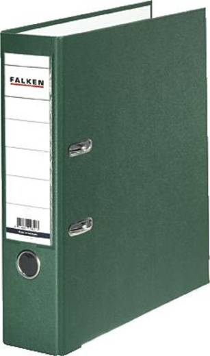 Falken Ordner PP-Color/9984055 für DIN A4 grün Rückenbreite 80 mm