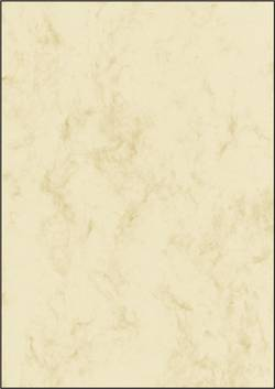 Image of Motivpapier Sigel DP181 Marmor DIN A4 90 g/m² Beige 25 Blatt