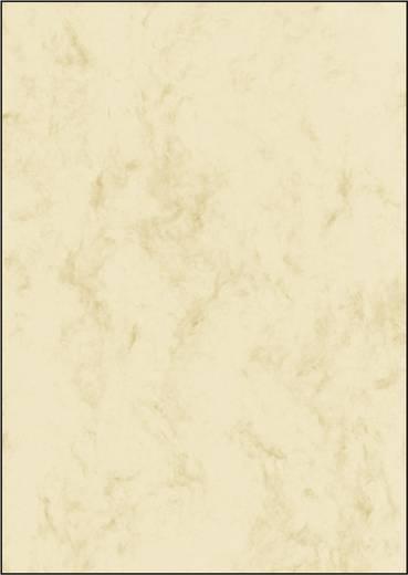 Motivpapier Sigel DP181 Marmor DIN A4 90 g/m² Beige 25 Blatt