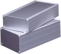 Hliníkové pouzdro, (d x š x v) 168 x 103 x 56 mm, přírodní (1030)