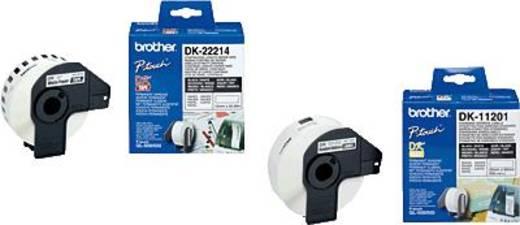 Brother Etiketten (Rolle) 50 mm x 30.48 m Papier Weiß 1 Rolle(n) Permanent DK22223 DK-22223 Universal-Etiketten