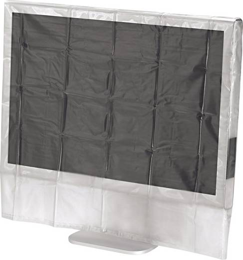 Hama Bildschirm-Staubschutzhaube 84181, 51 cm - 56 cm, 20 - 22 Zoll, Transparent