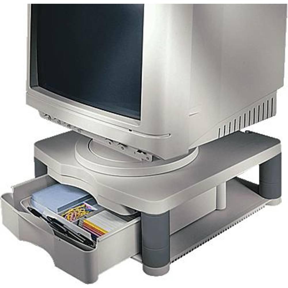 r hausseur pour cran fellowes 91713 25 4 cm 10 50 8 cm 20 rigide graphite sur le site. Black Bedroom Furniture Sets. Home Design Ideas