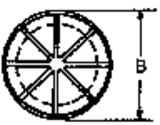Kabeldurchführung Klemm-Ø (max.) 11.1 mm Polyamid Schwarz PB Fastener AF0625 1 St.