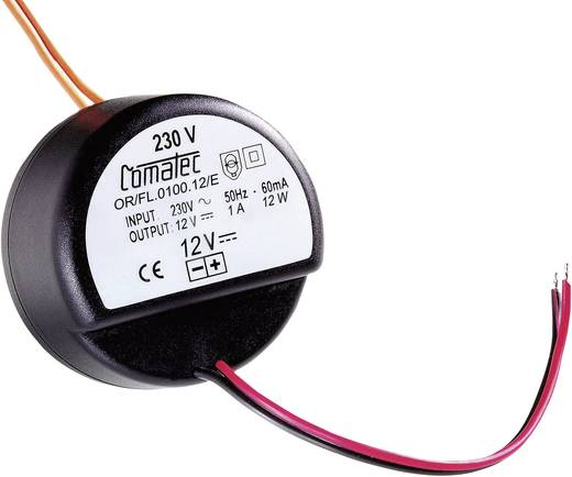 AC/DC-Einbaunetzteil Comatec OF/FL/0075.24/E 24 V/DC 0.75 A 18 W offene Kabelenden