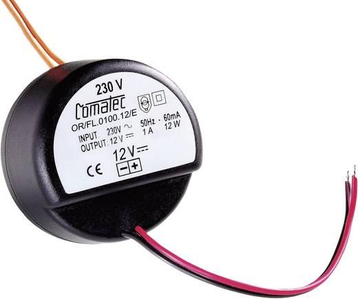 AC/DC-Einbaunetzteil Comatec OR/FL/0100.12/E 12 V/DC 1 A 12 W offene Kabelenden