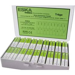 Sada trubičkových poistiek ESKA (Ø x d) 5 mm x 20 mm, pomalý -T-, 360 dielov