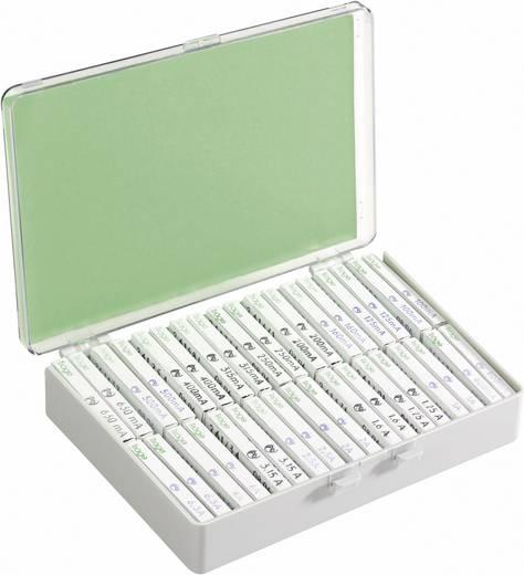 Feinsicherung-Sortiment (Ø x L) 5 mm x 20 mm Träge -T- ESKA Inhalt 360 Teile