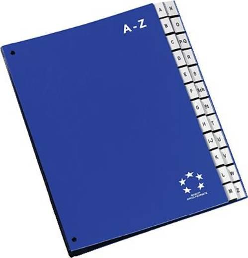 5 Star Pultordner A-Z farbig blau