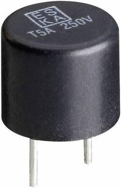 Mini-fusible ESKA 887012 temporisé -T- sortie radiale rond 315 mA 250 V 500 pc(s)