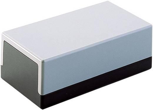 Universal-Gehäuse 63 x 120 x 40 Kunststoff Grau-Schwarz Bopla 120X65X40 M.4SCHLITZ.7X1MM 1 St.