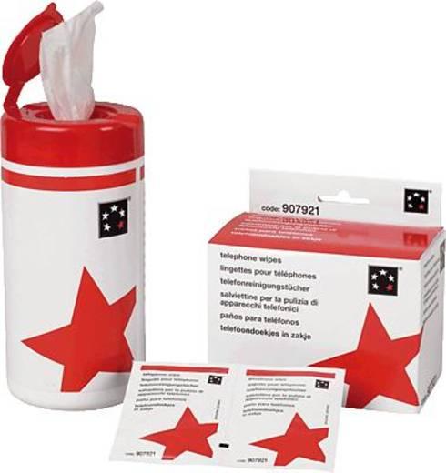 5 Star™ Telefon Reinigungstücher separate Inhalt: 50 St.