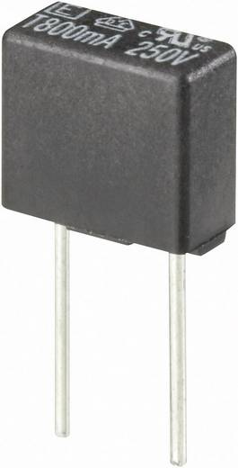 Kleinstsicherung radial bedrahtet eckig 0.08 A 250 V Träge -T- ESKA 883006 1 St.