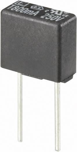 Kleinstsicherung radial bedrahtet eckig 1.25 A 250 V Träge -T- ESKA 883018 1 St.