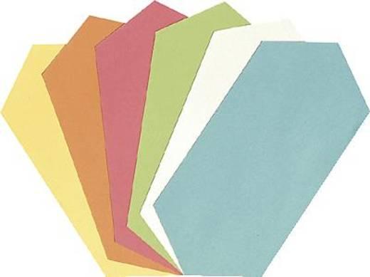 5 Star™ Moderationkarten Rhombus 9,5x20,5cm sortiert 130 g/qm Inh.250