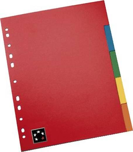 5 Star™ Kartonregister Blanko 5-teilig