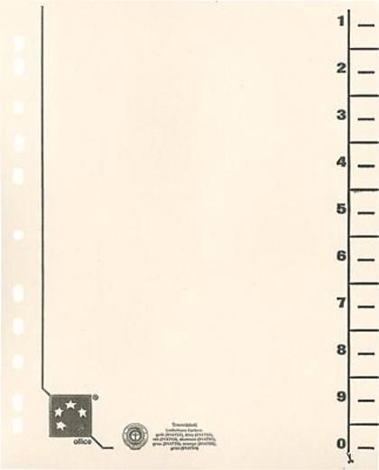 5 Star Trennblätter vollfarbig 30x24 cm chamois RC Karton 230 g/qm Inh.100