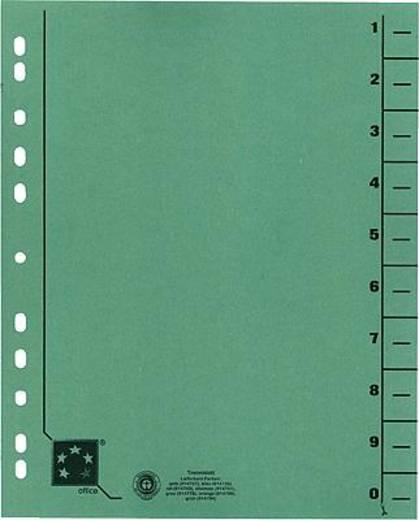 5 Star Trennblätter vollfarbig 30x24 cm grün RC Karton 230 g/qm Inh.100