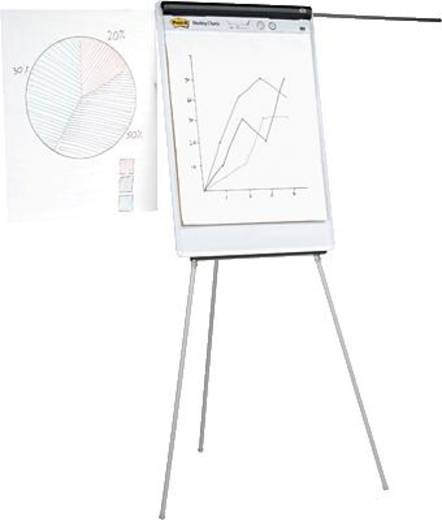 5 Star™ Flipchart Office 740x1060mm lichtgrau Metall