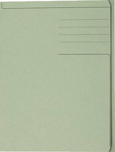 5 Star Einschlagmappen für DIN A4 grün Karton 320g/qm