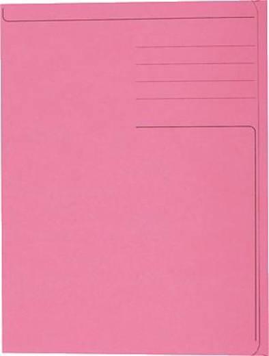 5 Star Einschlagmappen für DIN A4 rot Karton 320g/qm