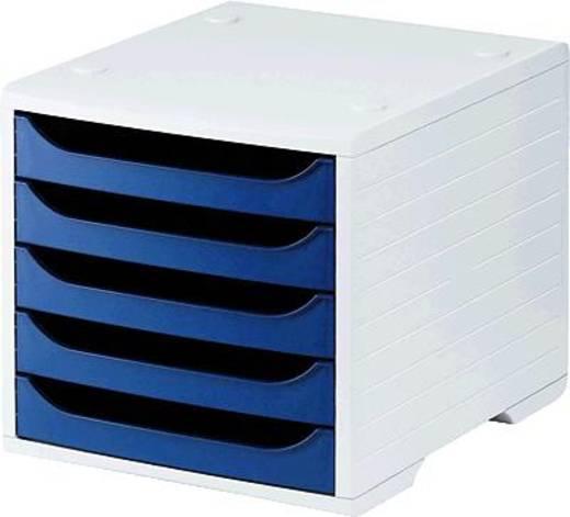 5 Star™ Büroboxen grau/blau Kunststoff