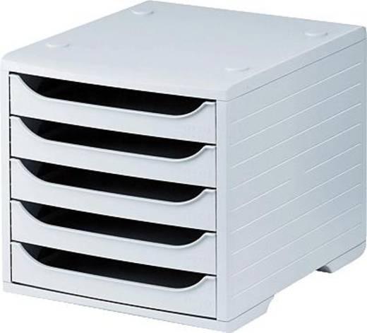 5 Star™ Büroboxen 270x340x255 mm grau/grau Kunststoff