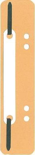 5 Star Heftstreifen aus Karton, kurz 150 x 34 mm gelb RC Karton Inh.100