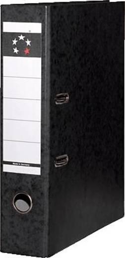 5Star Ordner DIN A4 Rückenbreite: 80 mm Schwarz 2 Bügel 926813