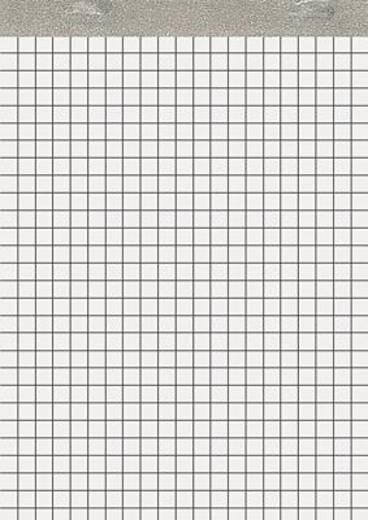 5 Star™ Notizblock ohne Deckblatt DIN A6 kariert 60 g/qm Inh.50 Blatt