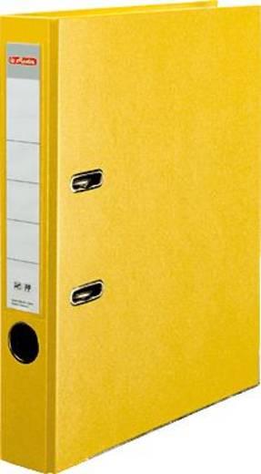 Herlitz Ordner PP-Color, gelb/5451307