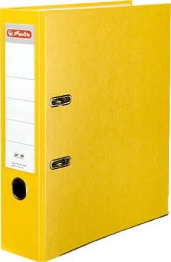 Herlitz Ordner PP-Color, gelb/5481304