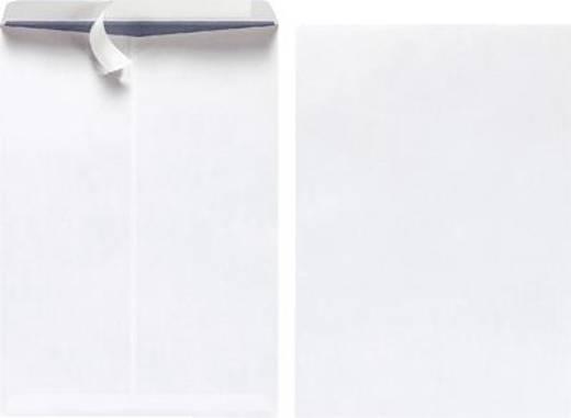 Herlitz Versandtaschen B4/10408334 weiß ohne Fenster 100 g/qm Inh.10