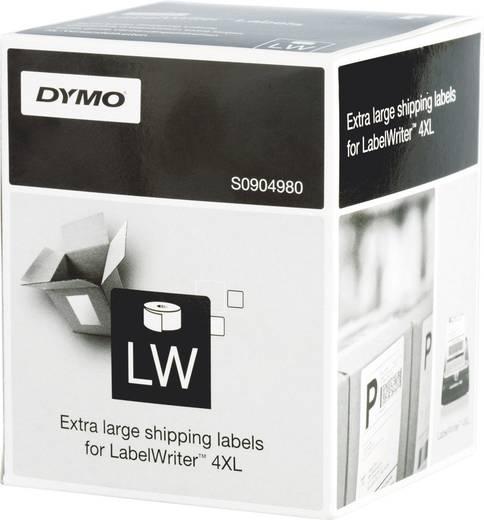 DYMO Etiketten (Rolle) 159 x 104 mm Papier Weiß 220 St. Permanent S0904980 Versand-Etiketten