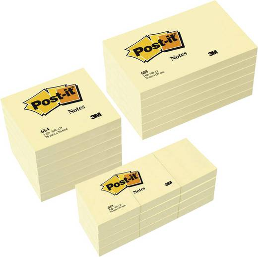 Post-it Notes/654655P gelb