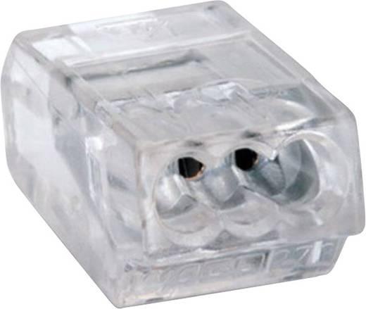 Dosenklemme starr: 0.75-1.5 mm² Polzahl: 3 WAGO 100 St. Transparent