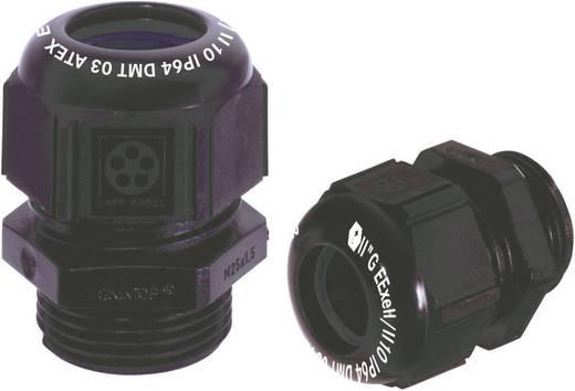 Kabelverschraubung M16 Polyamid Schwarz (RAL 9005) LappKabel SKINTOP® KR-M 16X1,5 ATEX plus BK 1 St.