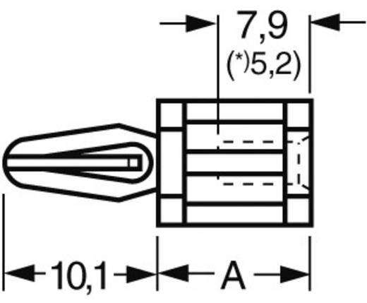 Abstandshalter Kunststoff Abstandsmaß 22.2 mm Richco TCBS-14-01 1 St.