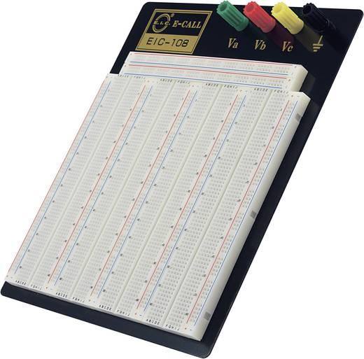 Steckplatine Polzahl Gesamt 2520 (L x B x H) 185 x 190 x 8.5 mm EIC-108 1 St.