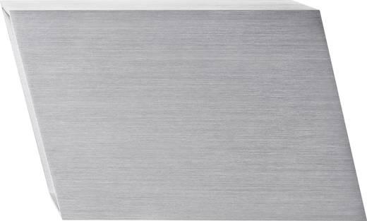 LED-Wandleuchte 6 W Warm-Weiß Twice LSWL1622 Silber-Grau