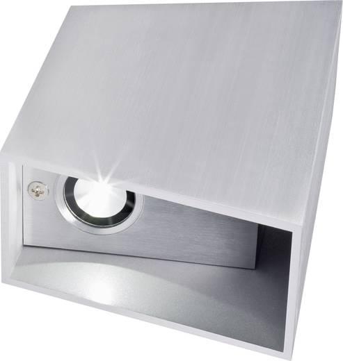 LED-Wandleuchte 6 W Warm-Weiß Magic LSWL1623 Silber-Grau