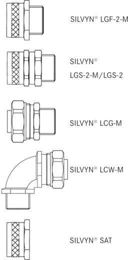 Wellrohr Schwarz 10.20 mm LappKabel 61804712 SILVYN® LCC-2 /12 Meterware