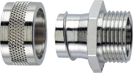 Schlauchverschraubung Silber M20 16.90 mm Gerade LappKabel 55502022 SILVYN® LGF-2-M 20X1.5/2 1 St.