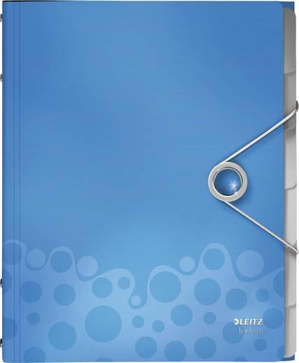 Leitz Ordnungsmappe Bebop 6 Fächer/4569-00-37 B260xH320 mm blau