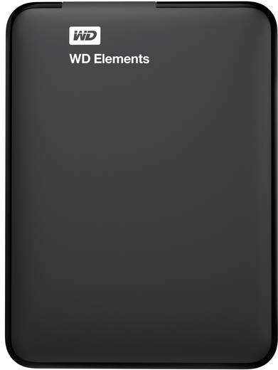 Externe Festplatte 6.35 cm (2.5 Zoll) 500 GB Western Digital Elements™ Schwarz USB 3.0