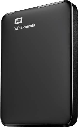 Externe Festplatte 6.35 cm (2.5 Zoll) 2 TB Western Digital WD Elements Portable Schwarz USB 3.0