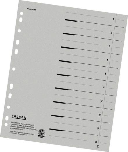 Falken Trennblätter/80001696 grau Inh.100